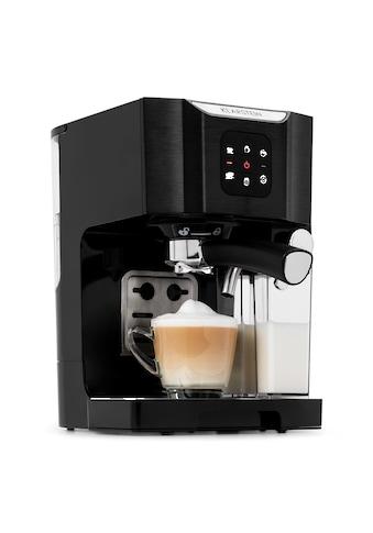 Klarstein Kaffeemaschine 1450 W 20 Bar Milchschäumer 3in1 schwarz »BellaVita« kaufen