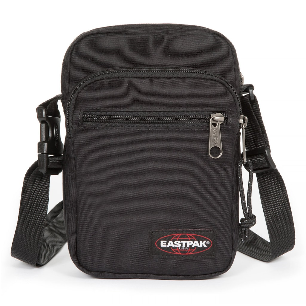 Eastpak Umhängetasche »DOUBLE ONE, Black«, auch als Bauchtragetasche verwendbar
