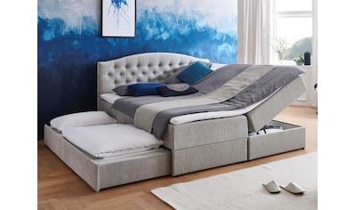 ATLANTIC home collection Boxspringbett, mit Topper, Bettkasten und Gästebett kaufen