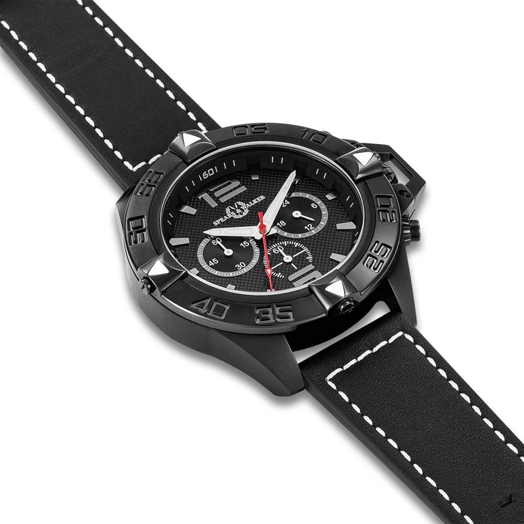 Spears & Walker Quarzuhr »RWS020«, (1 tlg.), mit Echtleder-Armband
