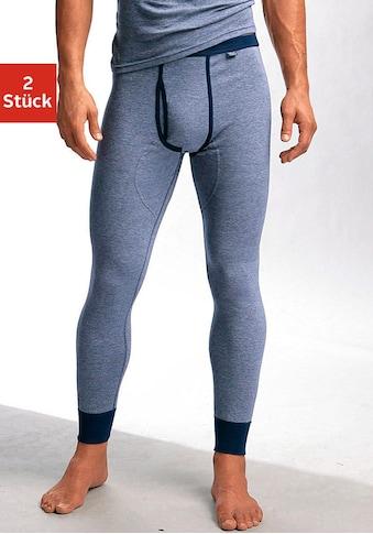 Clipper Exclusive Lange Unterhose, modische Optik: Jeans meliert, tolle Qualität kaufen