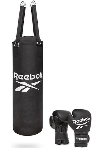 Reebok Boxsack »Combat Boxsack mit 12 Oz Boxhandschuhen«, (Set, 3 tlg., mit... kaufen