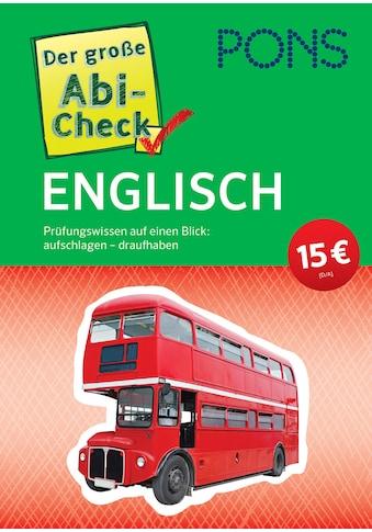 Buch »PONS Der große Abi-Check Englisch / DIVERSE« kaufen