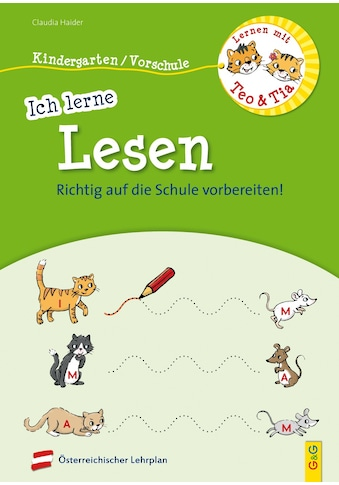 Buch »Lernen mit Teo und Tia - Ich lerne Lesen - Kindergarten/Vorschule / Claudia... kaufen