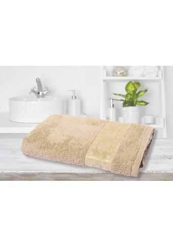 Way of Glory Handtuch, (1 St.), aus reiner Baumwolle mit aztekischem Goldrand kaufen