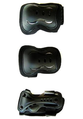 REBEL Schutz-Set »Rebel Schutzset«, (Set, 6 tlg., mit Knie-, Ellenbogen- und Hangelenkschutz) kaufen