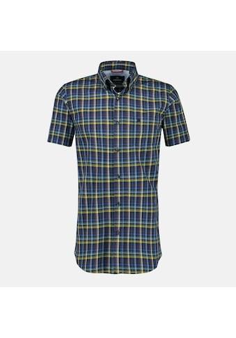 LERROS Kurzarmhemd, mit Vichy-Karo und Button-Down-Kragen kaufen