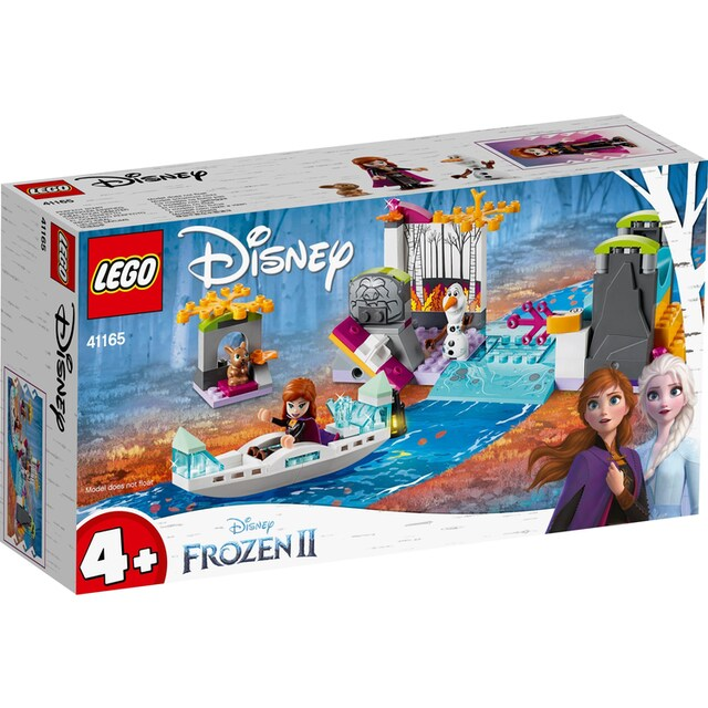 "LEGO® Konstruktionsspielsteine ""Annas Kanufahrt (41165), LEGO® Disney Princess"", Kunststoff, (108-tlg.)"