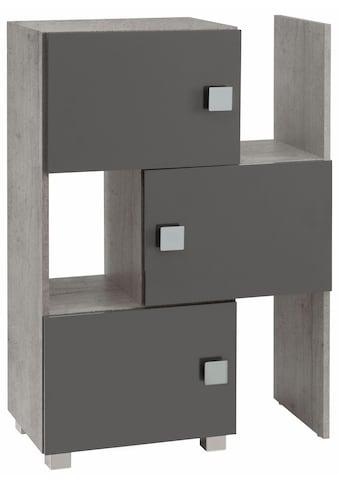 Schildmeyer Schieberegal »Quadra«, stapelbar, Badregal kaufen