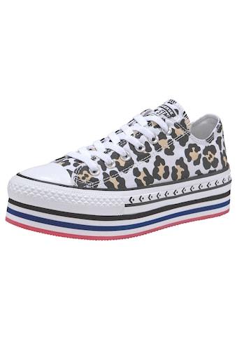 Converse Sneaker »Chuck Taylor All Star Platform Layer Ox« kaufen