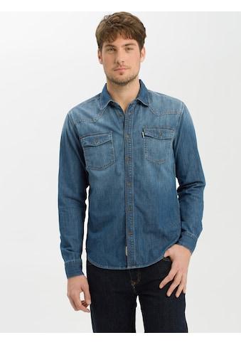 Cross Jeans® Jeanshemd »A 208«, Angenehmer Baumwolldenim kaufen