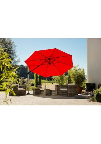 Schneider Schirme Ampelschirm »Bermuda«, mit Schirmständer, ohne Wegeplatten kaufen