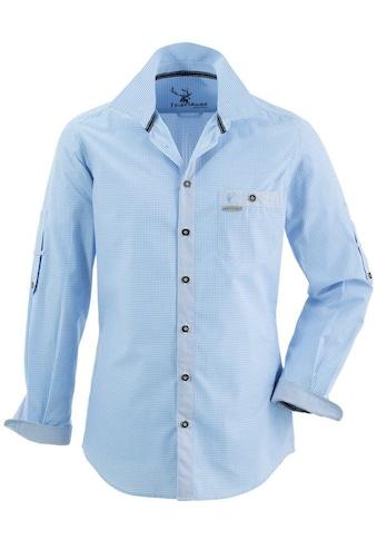 Spieth & Wensky Feierlaune Trachtenhemd, im Karodesign kaufen