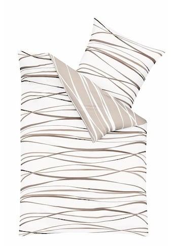 Kaeppel Wendebettwäsche »Motion«, mit feinen Wellenlinien kaufen