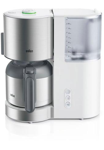 Braun Filterkaffeemaschine »ID Collection KF 5105 WH weiß« kaufen