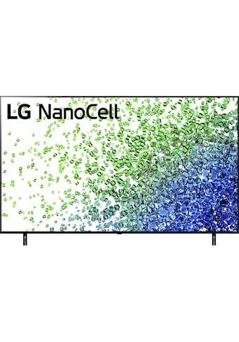 "LG LCD-LED Fernseher »75NANO809PA«, 189 cm/75 "", 4K Ultra HD, Smart-TV, NanoCell kaufen"