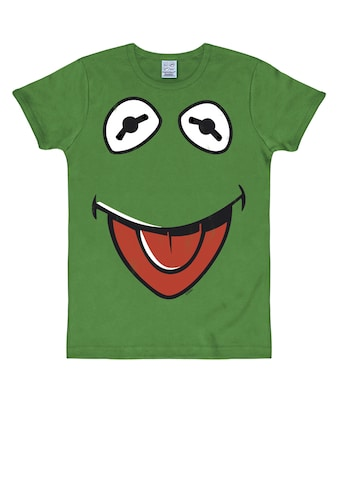 LOGOSHIRT T-Shirt »Kermit der Frosch«, mit witzigem Frontprint kaufen