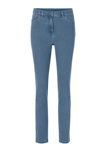 Classic Basics Jeans mit glitzernden Galonstreifen kaufen