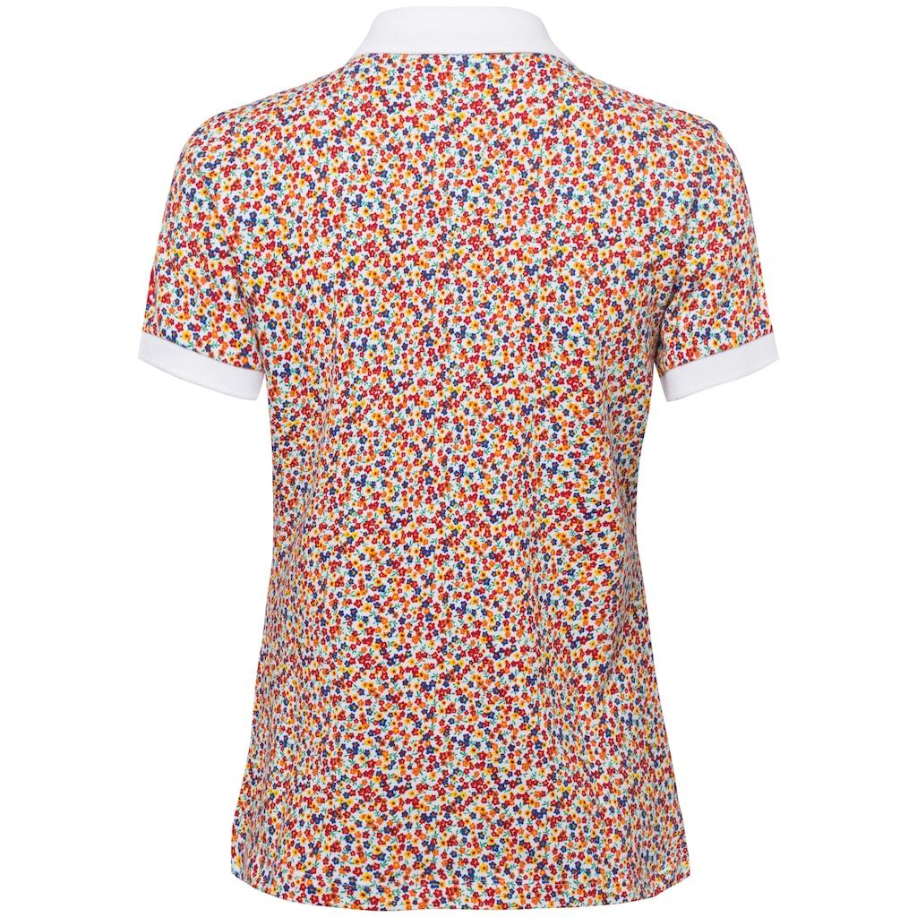 United Colors of Benetton Poloshirt, mit Anker Minimal-Print
