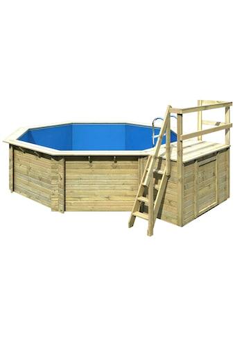 Karibu Achteckpool »Holzpool Gr. 2 Set A« kaufen