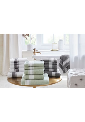 Guido Maria Kretschmer Home&Living Handtuch Set »Natural«, mit schlichter Bordüre kaufen
