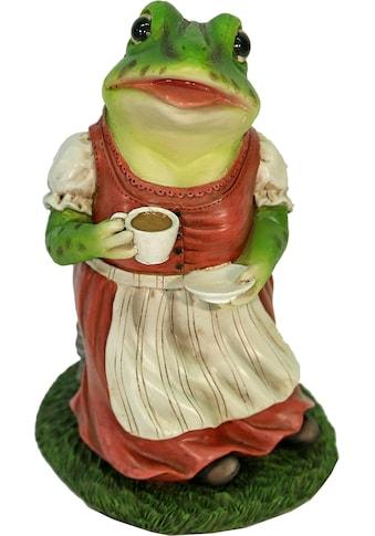 Casa Collection by Jänig Tierfigur »Frau Frosch im Kleid trinkt Kaffee« kaufen