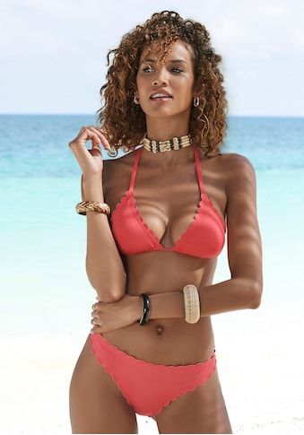 LASCANA Bikini-Hose »Scallop«, in Brasilien- Form kaufen