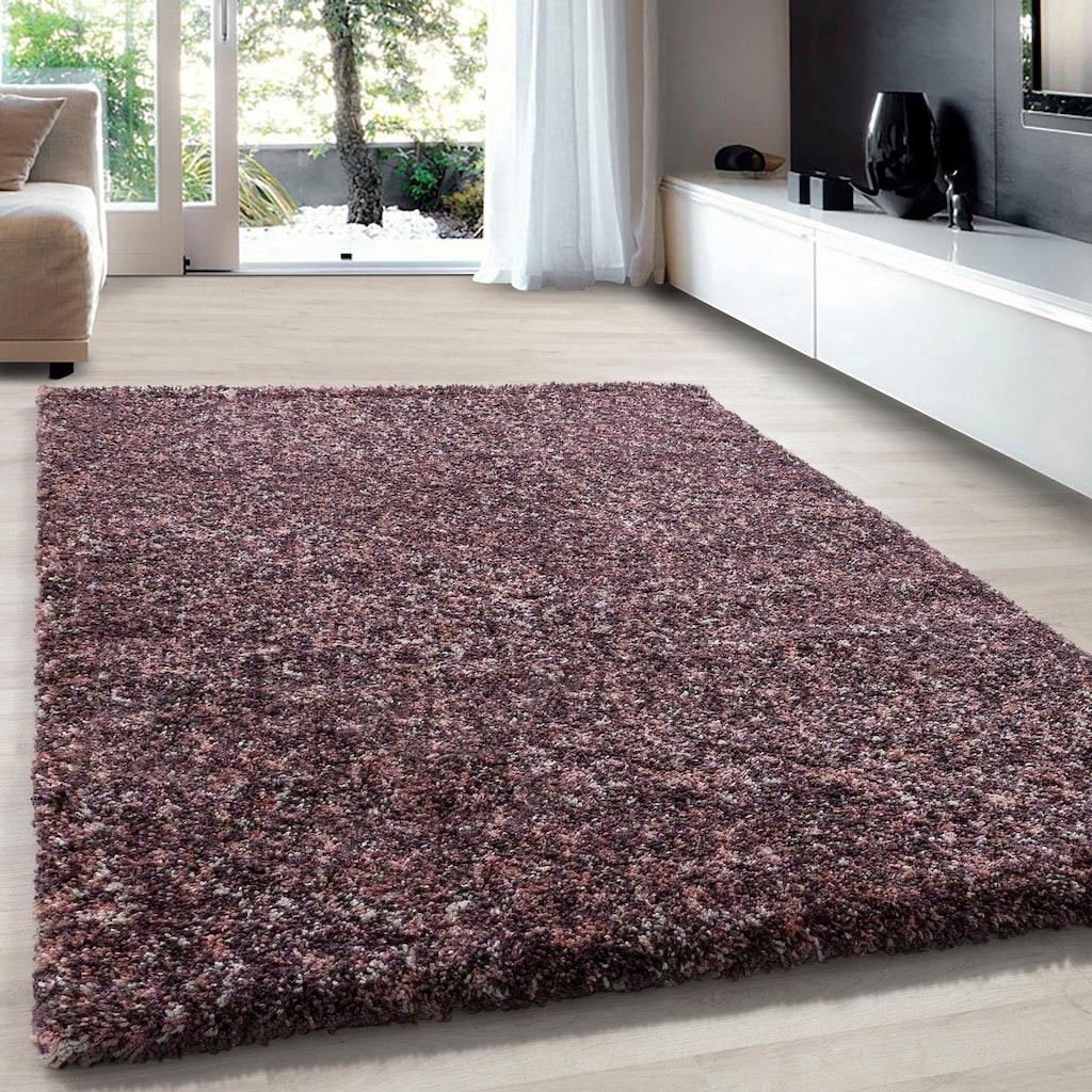 Ayyildiz Hochflor-Teppich »Enjoy Shaggy«, rechteckig, 50 mm Höhe, Wohnzimmer