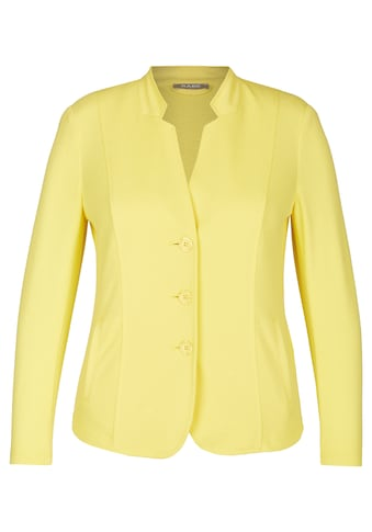 Rabe Jackenblazer im unifarbigen Design mit Stehkragen kaufen