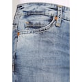 SOCCX Skinny-fit-Jeans, in aufwendiger Waschung