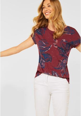 Cecil T-Shirt, aus reiner Baumwolle kaufen