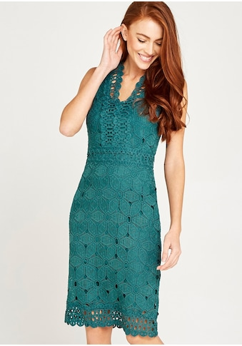 Apricot Etuikleid »Lace With Crochet Detail Dress« kaufen