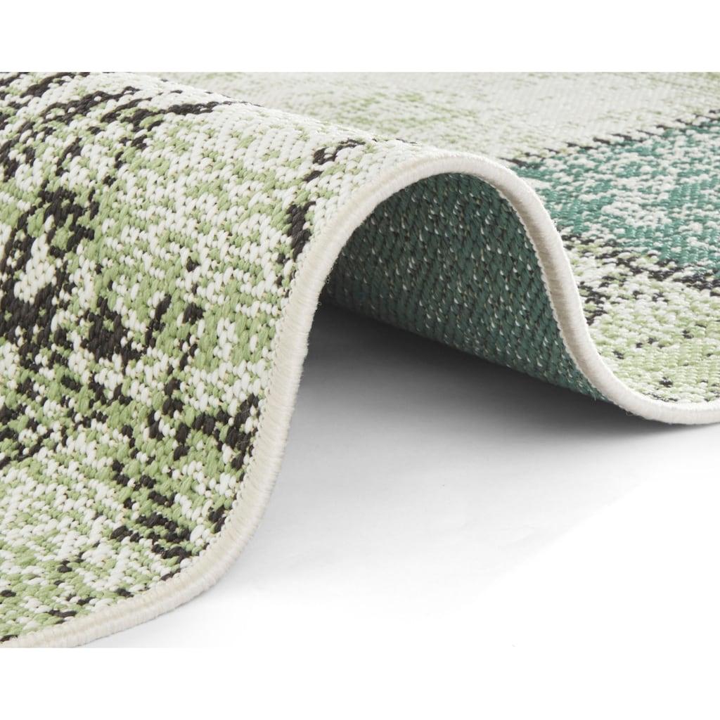 bougari Teppich »Symi«, rechteckig, 8 mm Höhe, In- und Outdoor geeignet, Wohnzimmer