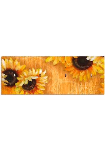 Artland Schlüsselbrett »Sonnenblumen« kaufen