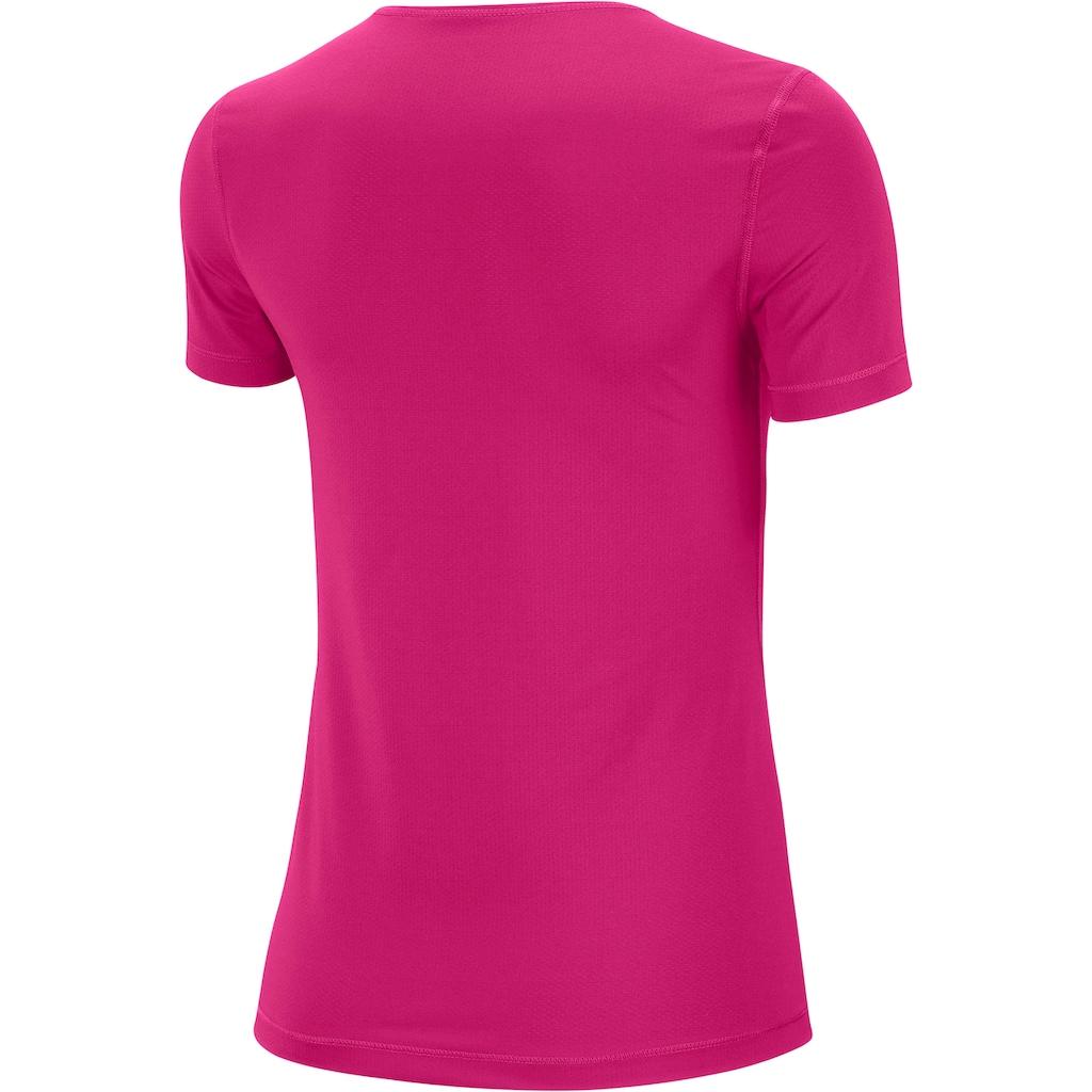 Nike Funktionsshirt »WOMEN NIKE PERFORMANCE TOP SHORTSLEEVE ALL OVER MESH«, DRI-FIT Technology
