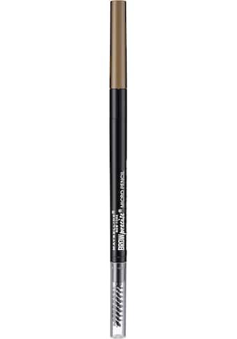"""MAYBELLINE NEW YORK Augenbrauen - Stift """"Eye Brow Precise Micro Pencil"""" kaufen"""