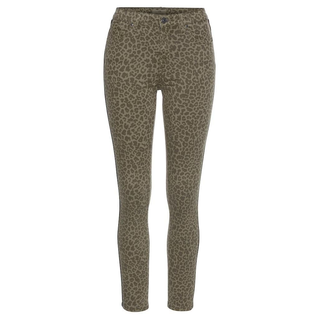 LTB High-waist-Jeans »TANYA X«, im angesagten Leo-Look