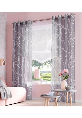 my home Raffrollo »Xanten«, mit Klettband kaufen