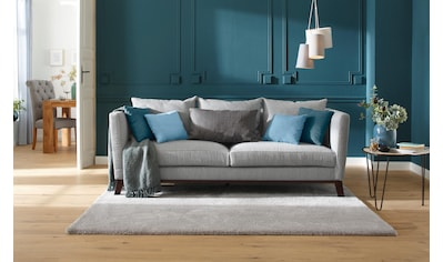 Home affaire 3-Sitzer »Kim«, mit Holzbeinen und vielen losen Kissen kaufen