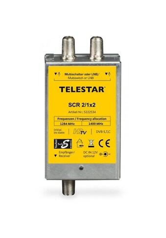 TELESTAR SAT-Verteiler »SCR 2/1x2«, Unicable kaufen