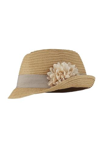 Hut mit dekorativer Blüte kaufen