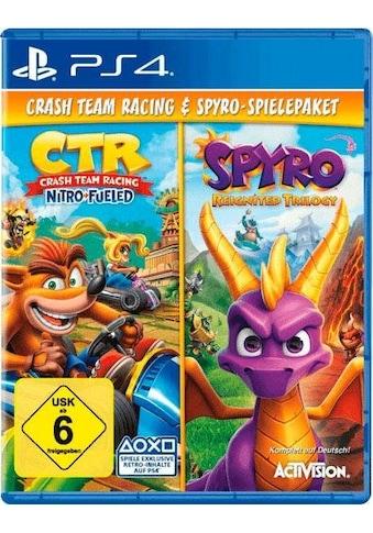 CTR Crash Team Racing Nitro Fueled + Spyro Reignited Trilogy PlayStation 4 kaufen