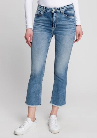 LTB Ankle-Jeans »LYNDA«, mit offener Kante für einen coolen Look kaufen