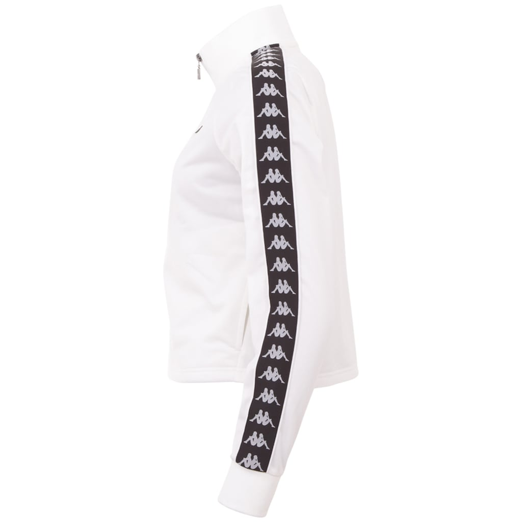 Kappa Trainingsjacke »AUTHENTIC HASINA«, mit paspeliertem Logo-Webband an den &Auml;rmeln<br />