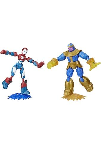 Hasbro Actionfigur »Marvel Avengers: Bend And Flex, Iron Patriot vs. Thanos Figuren«, (Set, 2 tlg.) kaufen
