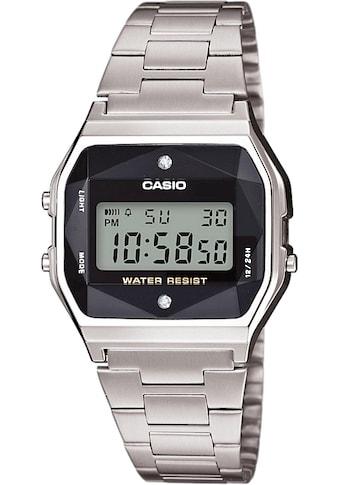 Casio Collection Multifunktionsuhr »A158WEAD-1EF« kaufen