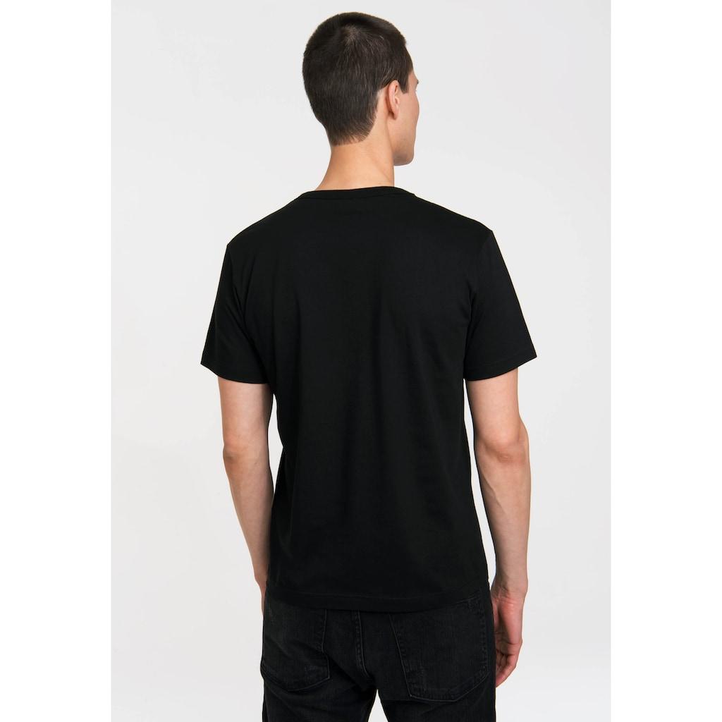 LOGOSHIRT T-Shirt mit hochwertigem Siebdruck