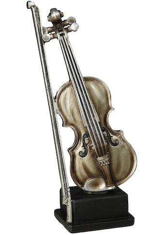 Ambiente Haus Dekofigur »Geige Figur M« kaufen