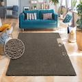 my home Hochflor-Teppich »Vince«, rechteckig, 31 mm Höhe, besonders weich durch Microfaser extra flauschig, Wohnzimmer