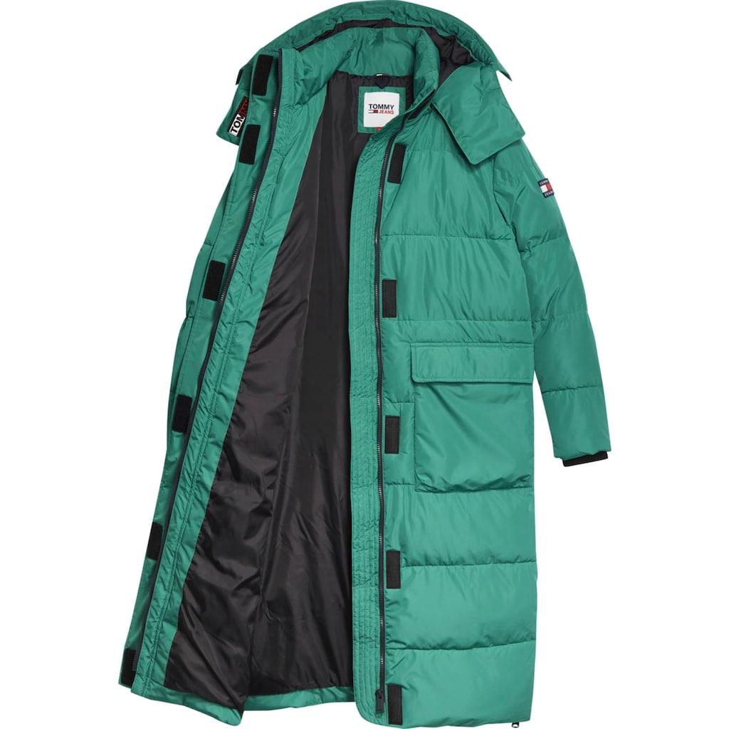 Tommy Jeans Steppmantel »TJW OVERSIZE MODERN PUFFA COAT«, mit vielen aufwendigen Details